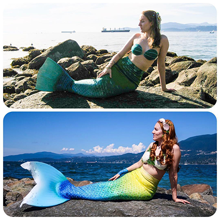 Courtney the Vancouver Mermaid